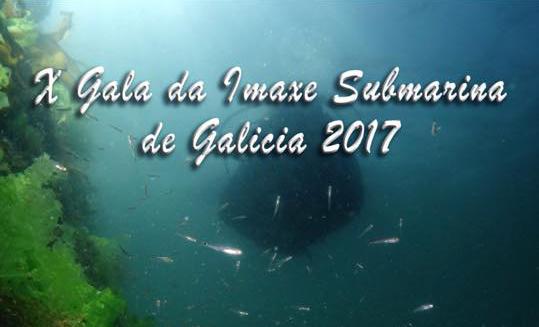 X Gala de Imagen Submarina de Galicia 2017