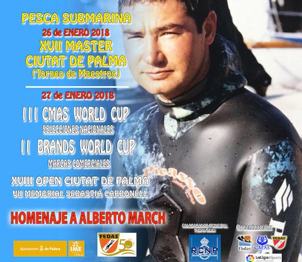 XVII Máster Ciutat de Palma y III CMAS World Cup de pesca submarina