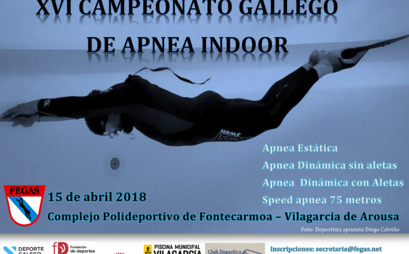XVI Campeonato Gallego de Apnea INDOOR