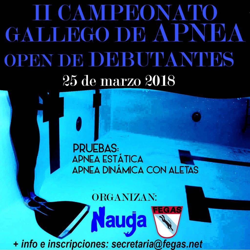 II Open Apnea Debutantes 2018