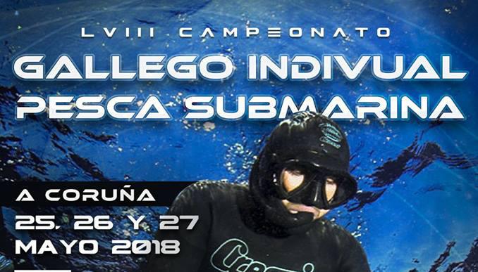 LVIII Campeonato Gallego Individual Pesca Submarina