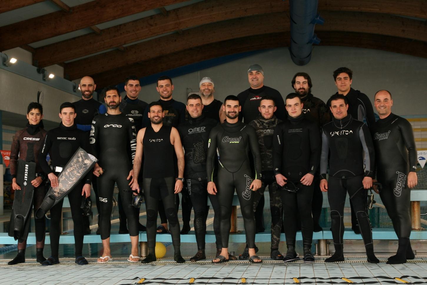 Taller iniciación a la apnea Diego Calviño y Héctor Costa
