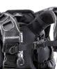 El sistema de arnés completamente independiente del saco, ahora también en la zona de las hombreras